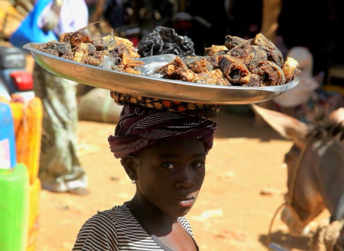 Burkina Faso 027 - Market near Kaya