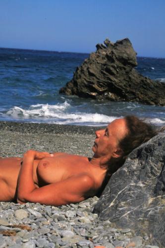 Greece - Amorgos 028 - Kambi beach