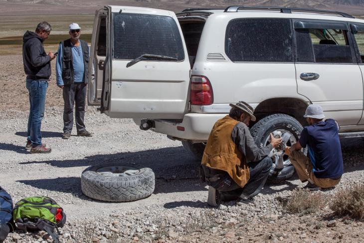 Tajikistan 028 - Deviation from the road to Karakul