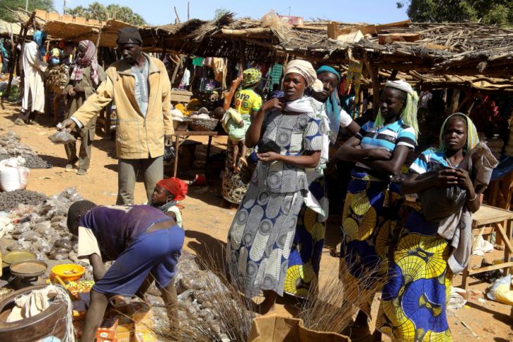 Burkina Faso 028 - Market near Kaya