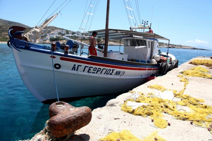 Greece - Donousa island 030 - The port