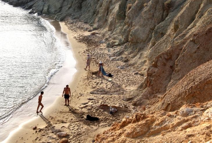 Greece - Anafi 029 - South - Agioi Anargyroi beach