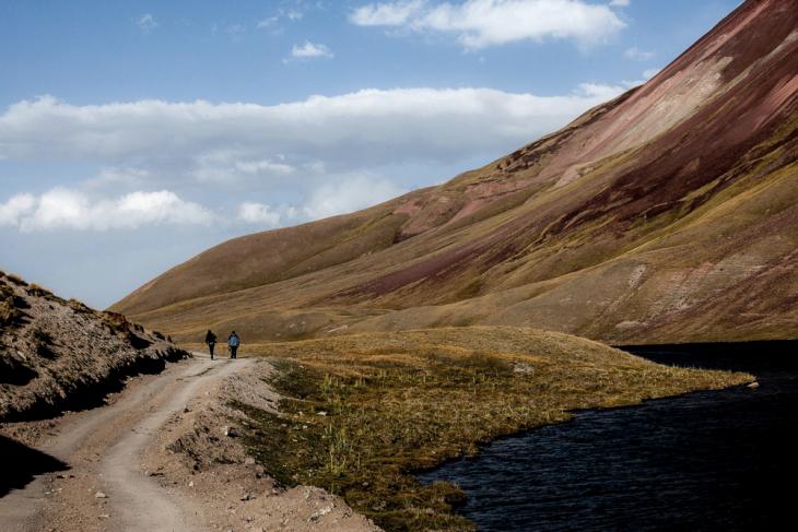 Kyrgyzstan 031 - On the road to Tulpar Kul