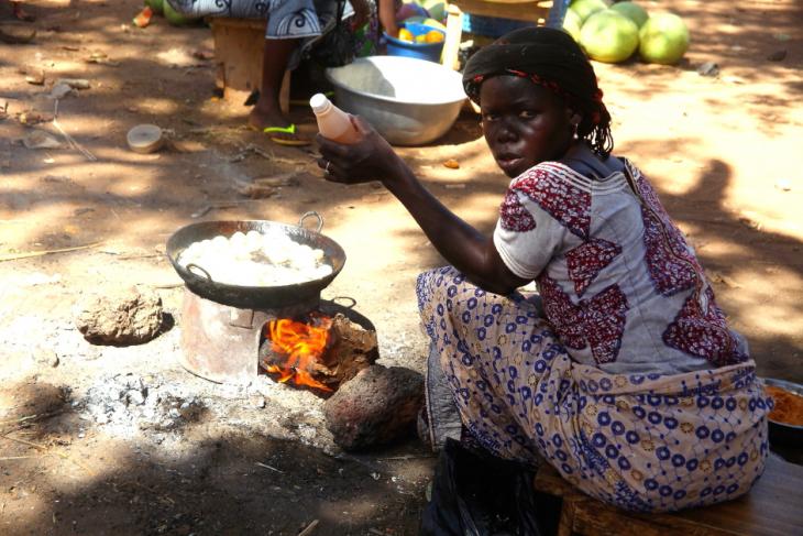 Burkina Faso 035 - Market near Kaya