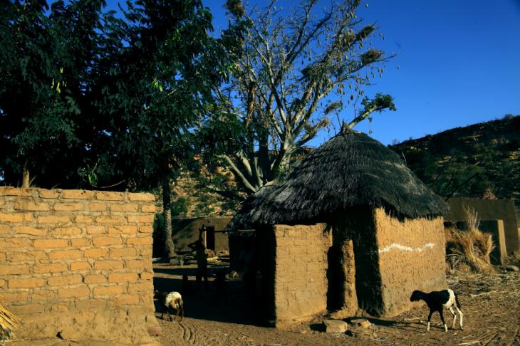 Burkina Faso - Falaise du Gobnangou 035