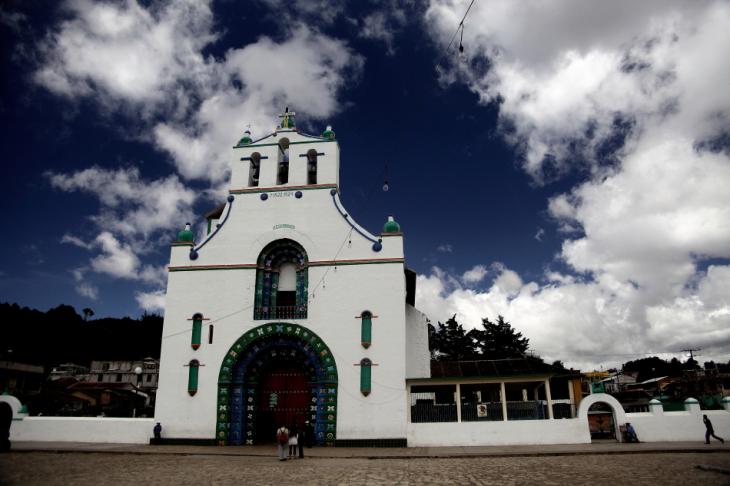 Mexico - San Cristobal surroundings 036 - San Juan Chamula
