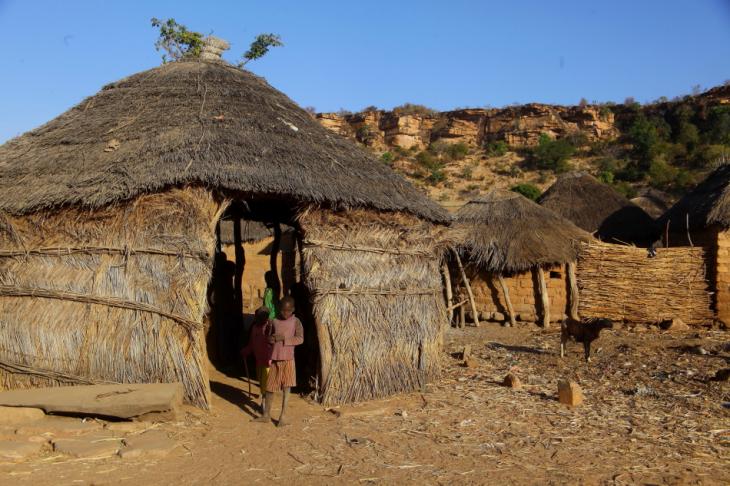 Burkina Faso - Falaise du Gobnangou 036