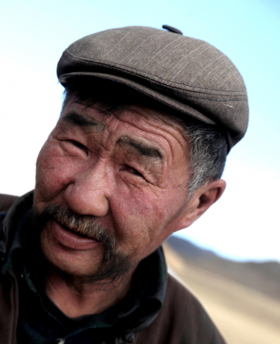 Mongolia 0376 - On the road from Shine Ider to Jargalant