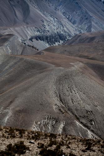 Tajikistan 037 - Wakhan Valley - On the road
