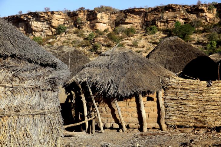 Burkina Faso - Falaise du Gobnangou 037