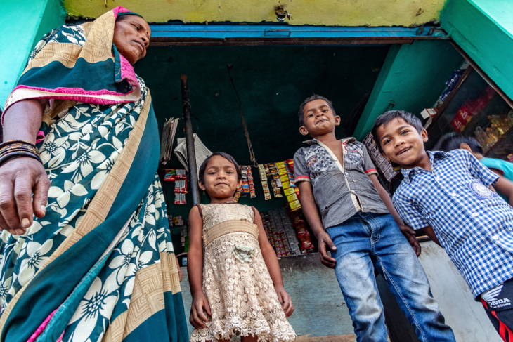 India - Chhattisgarh 038 - Madia Gond village on the road to Kanker