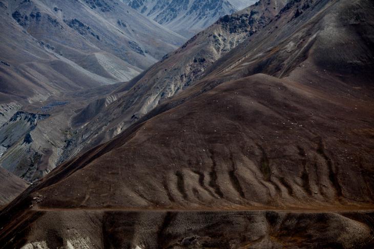 Tajikistan 039 - Wakhan Valley - On the road