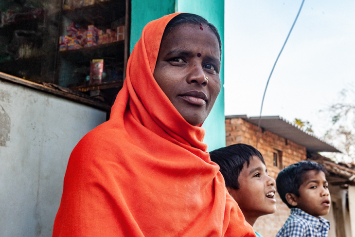 India - Chhattisgarh 039 - Madia Gond village on the road to Kanker