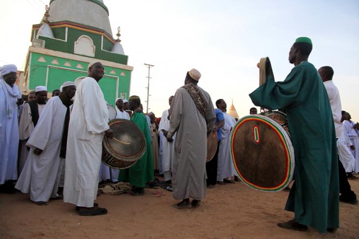Sudan - Dervish ceremony 040