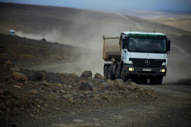 Iceland 040 - Kjolur road to Hveravellir