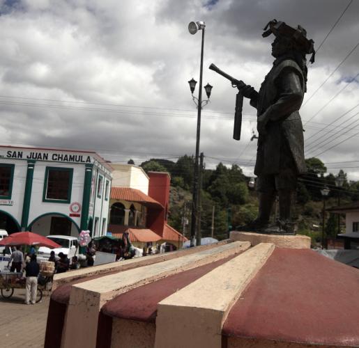 Mexico - San Cristobal surroundings 041 - San Juan Chamula