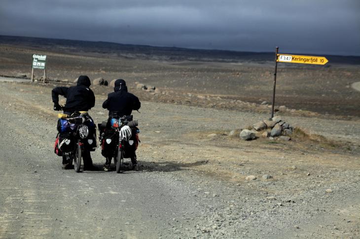 Iceland 041 - Kjolur road to Hveravellir