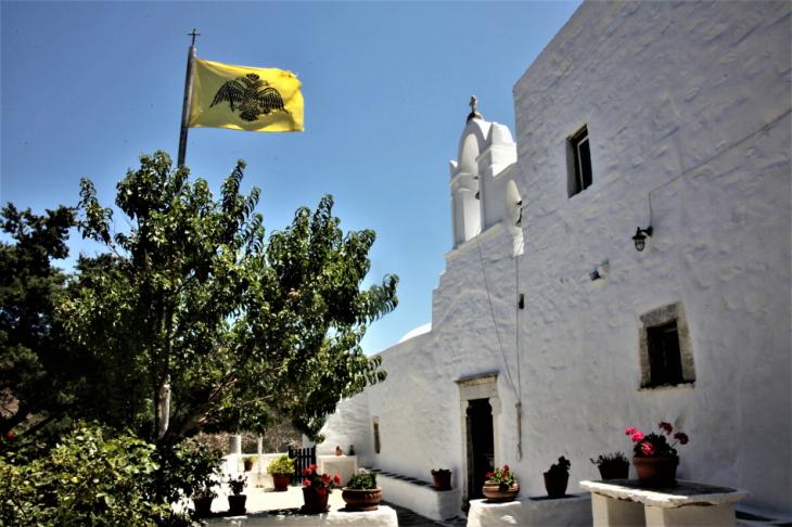 Greece - Amorgos 044 - On the way to Kato Meria - Agios Georgios Valsamitis