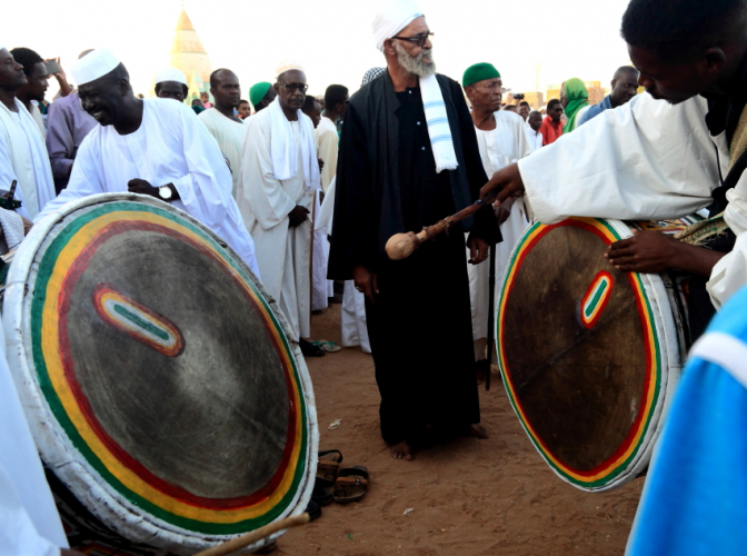 Sudan - Dervish ceremony 044