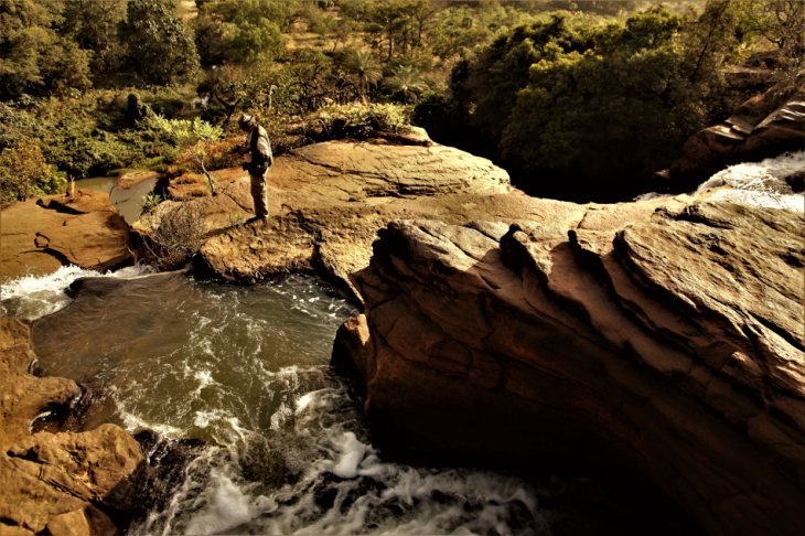 Burkina Faso 044 - Banfora - The waterfalls