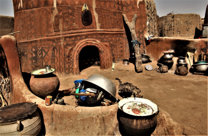 Burkina Faso -Tiebele 045