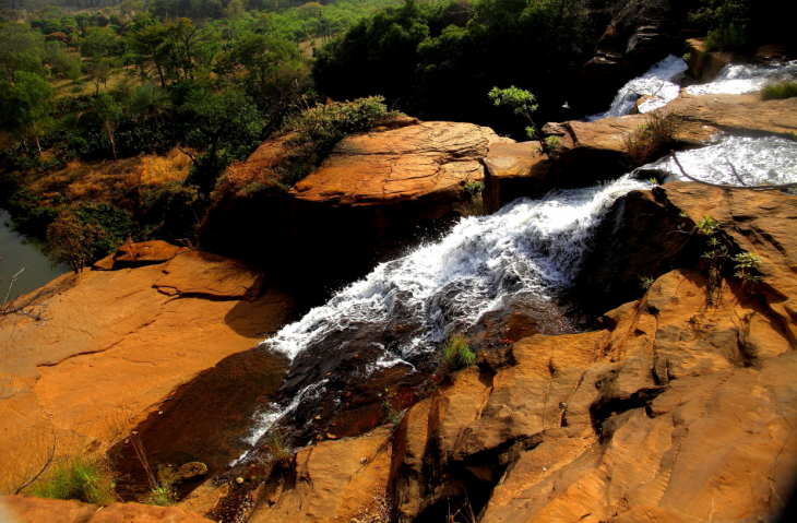 Burkina Faso 046 - Banfora - The waterfalls