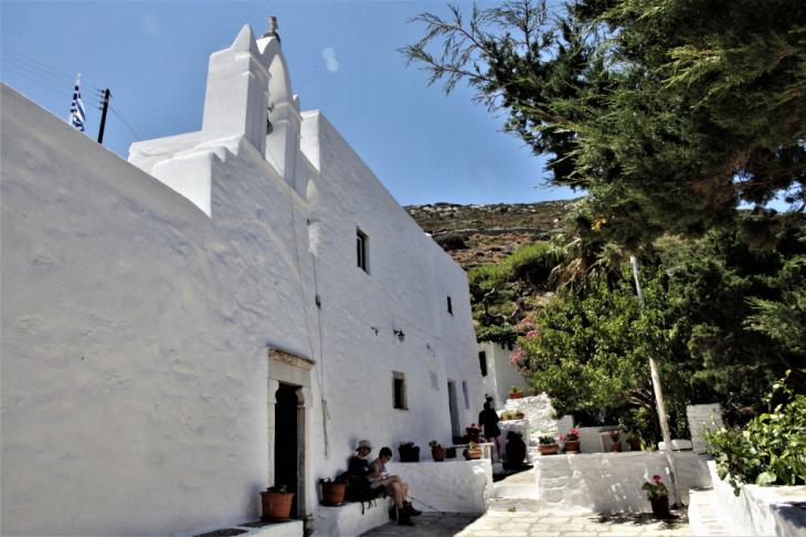 Greece - Amorgos 047 - On the way to Kato Meria - Agios Georgios Valsamitis