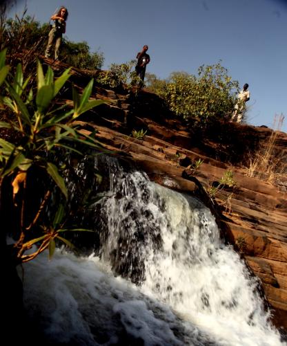 Burkina Faso 047 - Banfora - The waterfalls