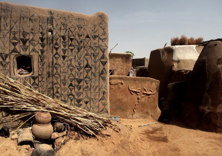 Burkina Faso -Tiebele 048