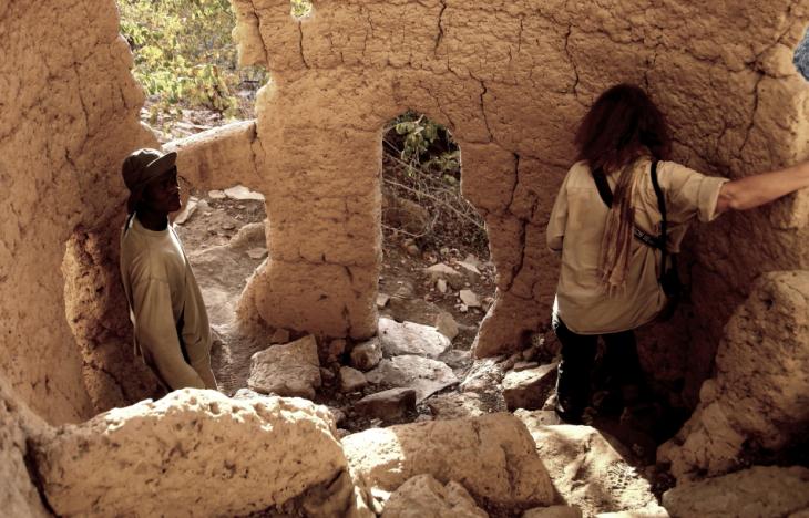 Burkina Faso - Falaise du Gobnangou 050