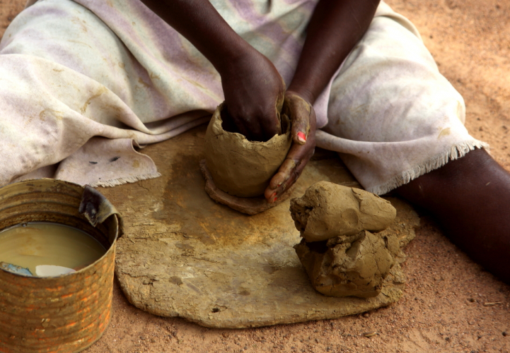 Burkina Faso - Gaoua 053 - Ceramic lab