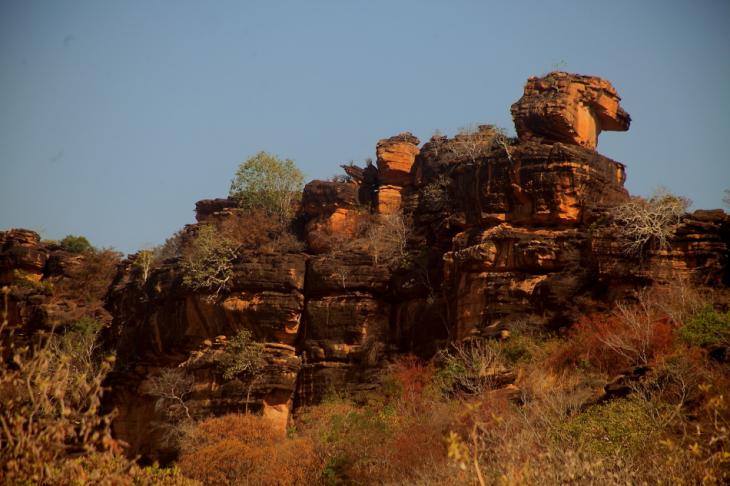 Burkina Faso - Falaise du Gobnangou 054