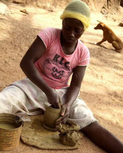 Burkina Faso - Gaoua 054 - Ceramic lab