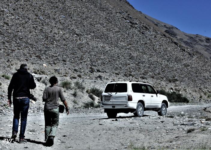 Tajikistan 055 - Wakhan Valley - On the road