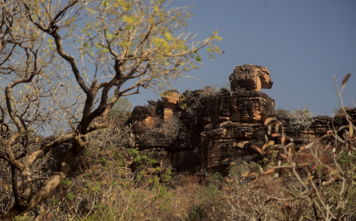 Burkina Faso - Falaise du Gobnangou 056