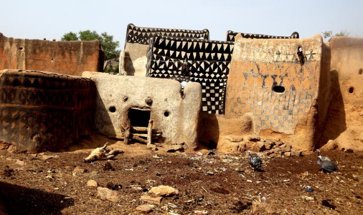 Burkina Faso -Tiebele 056 - Village in the sourroundings