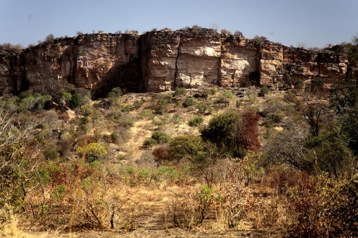 Burkina Faso - Falaise du Gobnangou 057