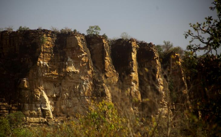 Burkina Faso - Falaise du Gobnangou 058
