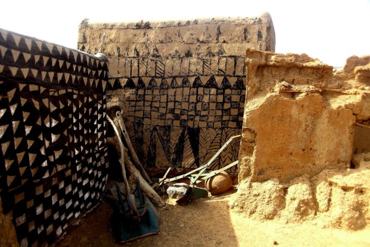 Burkina Faso -Tiebele 058 - Village in the sourroundings