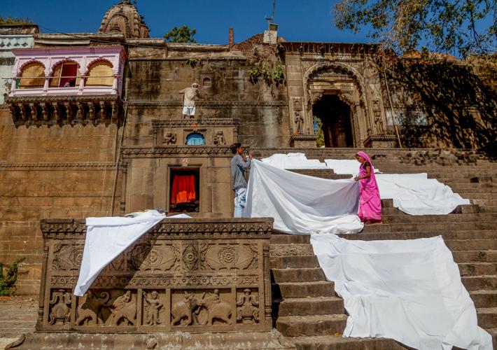 India - Madhya Pradesh - Maheshwar 059