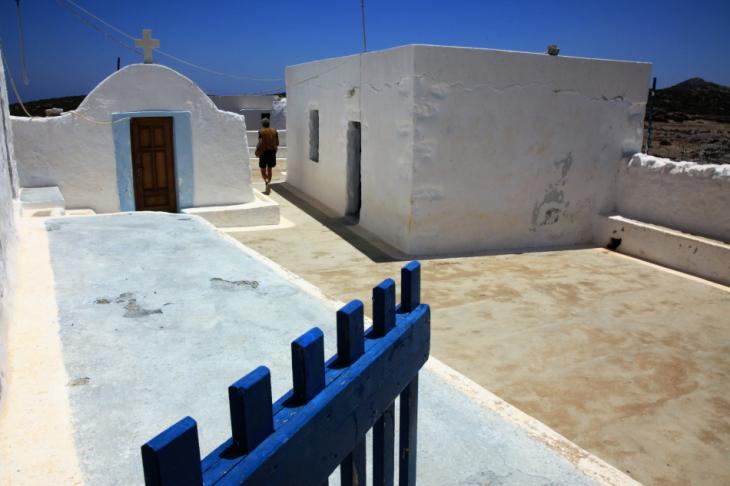 Greece - Astypalaia 060 - On the road to Vathy - Panagia Poulariani