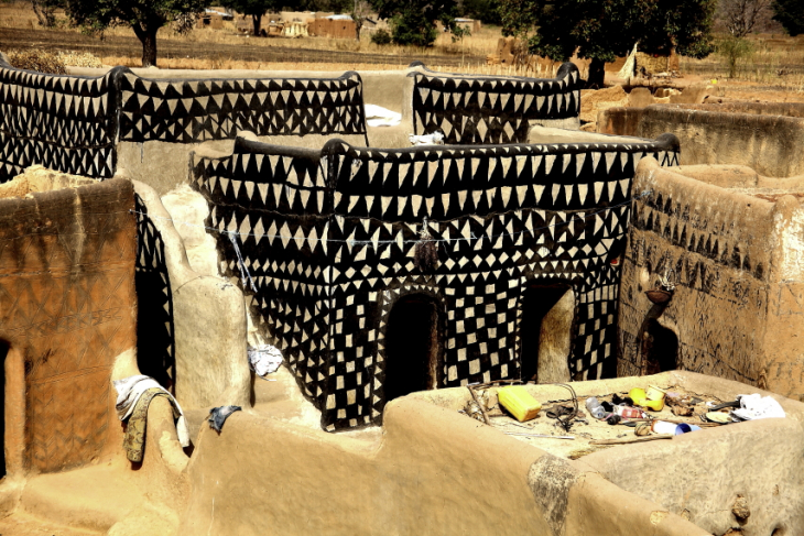 Burkina Faso -Tiebele 062 - Village in the sourroundings