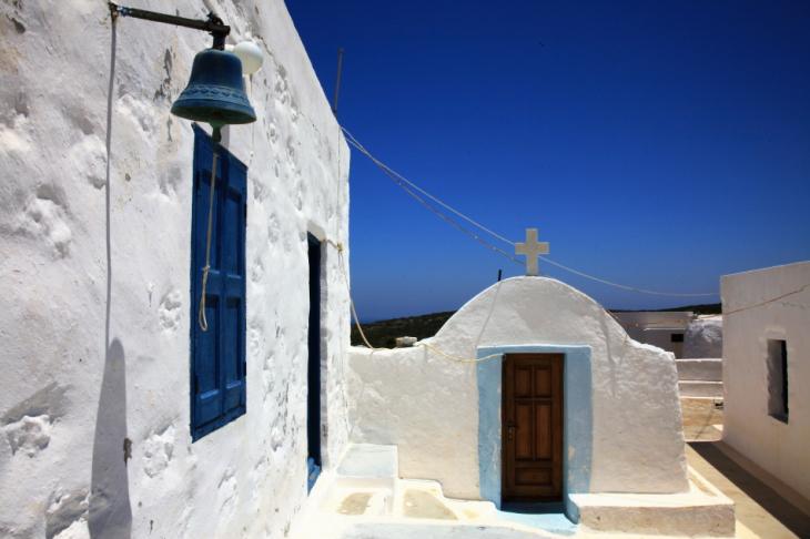 Greece - Astypalaia 062 - On the road to Vathy - Panagia Poulariani