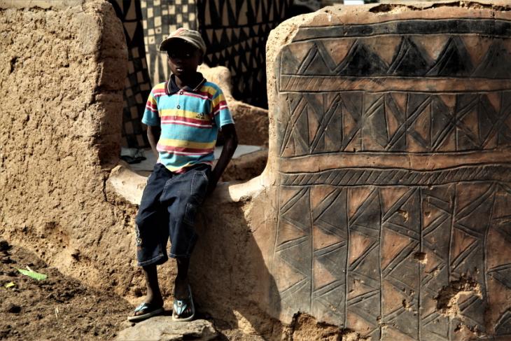 Burkina Faso -Tiebele 063 - Village in the sourroundings