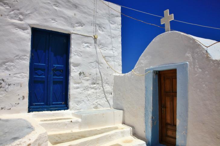 Greece - Astypalaia 063 - On the road to Vathy - Panagia Poulariani