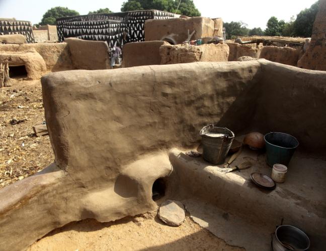 Burkina Faso -Tiebele 064 - Village in the sourroundings