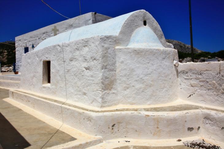 Greece - Astypalaia 066 - On the road to Vathy - Panagia Poulariani