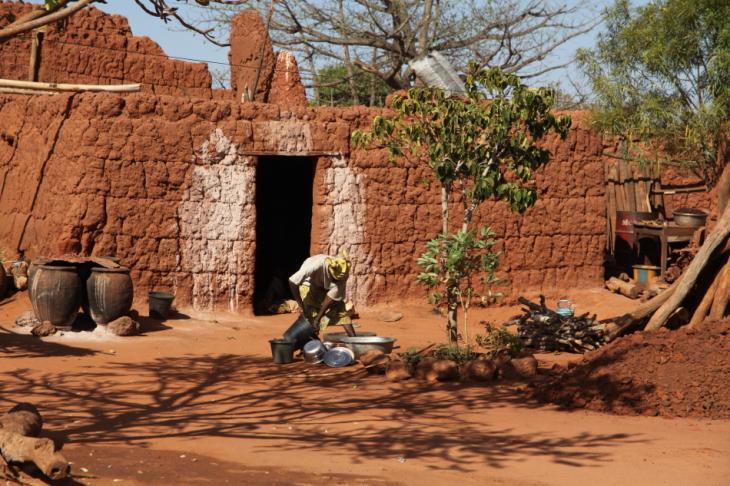 Burkina Faso - Koumi village, Bobo Dioulasso area 067