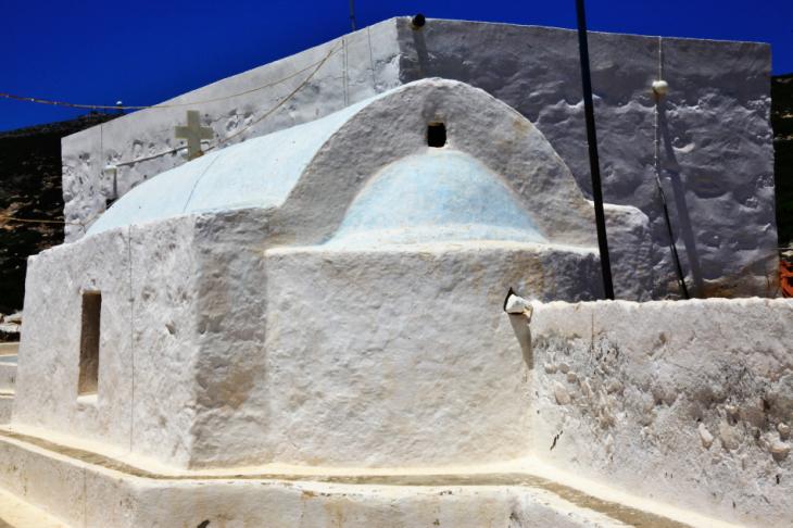 Greece - Astypalaia 067 - On the road to Vathy - Panagia Poulariani