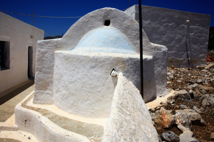 Greece - Astypalaia 068 - On the road to Vathy - Panagia Poulariani